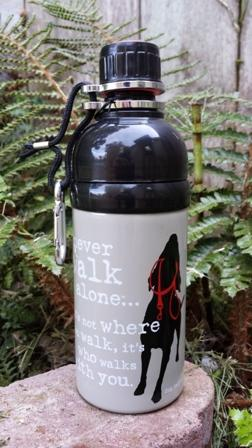 Dog Water Bottle (with roller ball) | WinterRiver Books